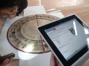 Constat d'état réalisé avec l'appui d'une tablette numérique.